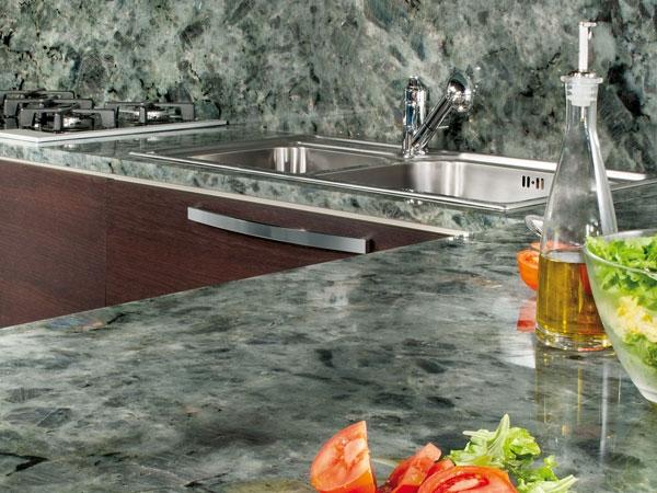piano cucina: in agglomerato, granito e marmolavorazioni in marmo ... - Top Cucina Granito Prezzi
