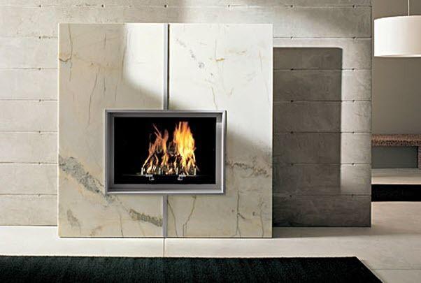 Il tuo caminetto in marmo lavorazioni in marmo - Stufe a metano da parete ...