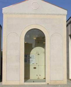 Cappella cimiteriale a completamento lavori ed accessoriata.