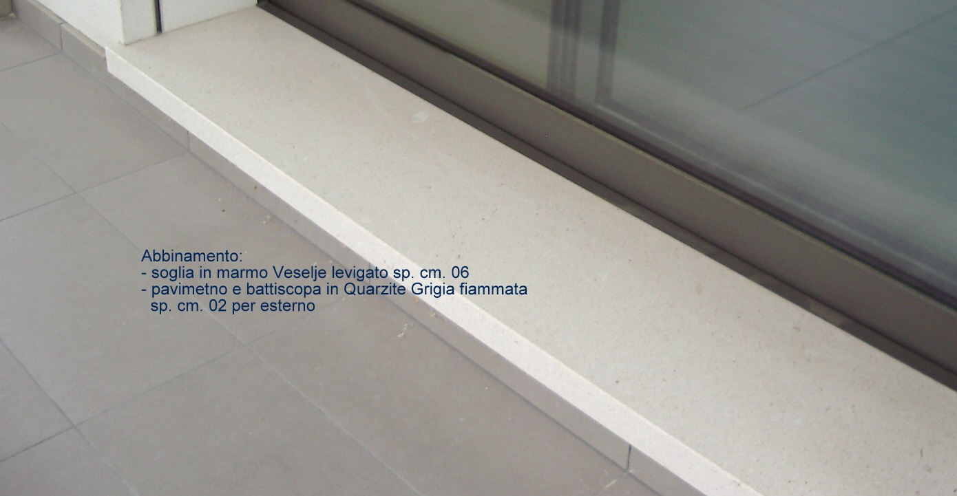 Conosciamo la quarzite lavorazioni in marmo - Soglie in marmo per finestre ...