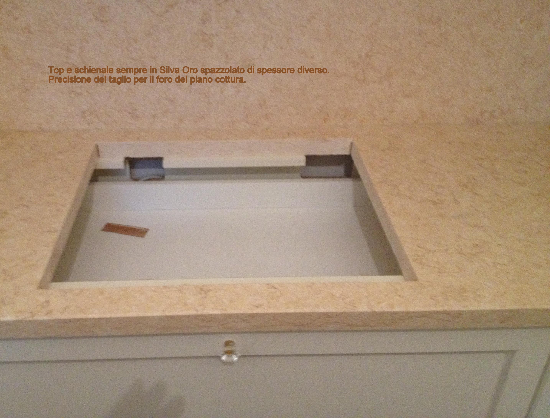 Tagliare Marmo Piano Cucina valorizzare il top cucina - lavorazioni in marmo