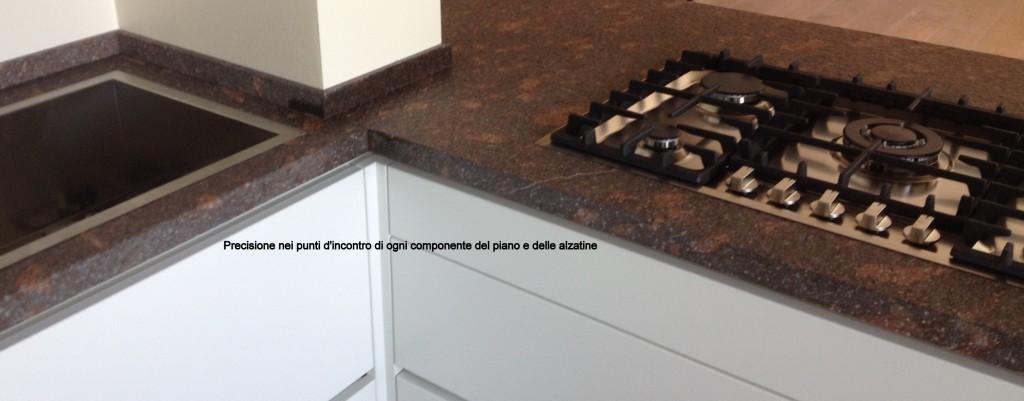 Top cucina ceramica top cucina spessore 6 cm for Piani di cucina