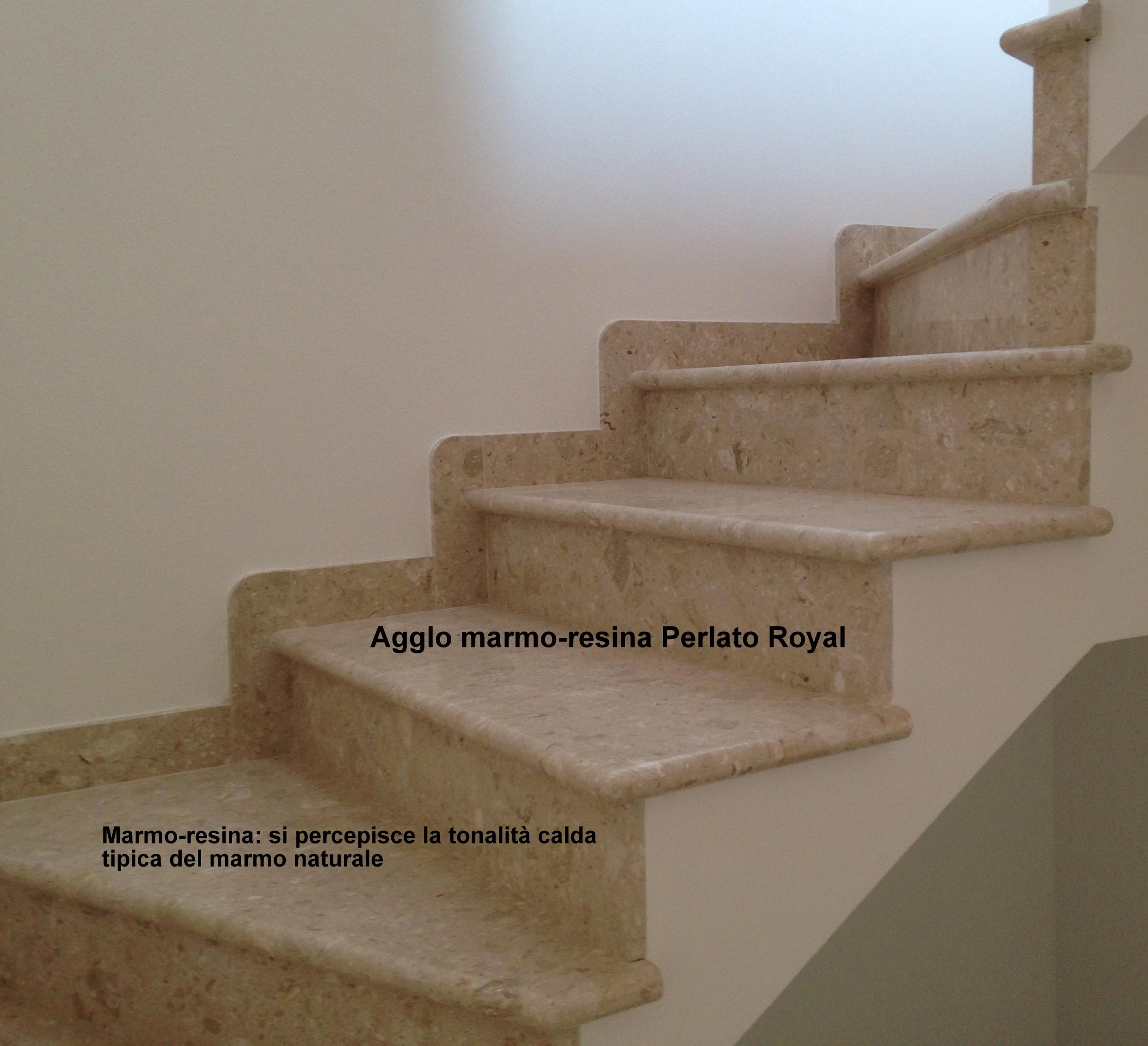 Davanzali In Marmo Botticino marmo-resina agglomerato - lavorazioni in marmo